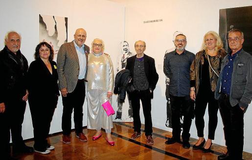 Vicenç Torres, Kika Coll, Miquel Ensenyat, María José Corominas, Ángel Muerza, Rafel Creus, Ana Bárbara Cardellà y Pep Canyelles.