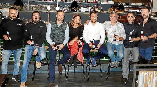 Pep Sanz, José Cortés, Fernando Ramírez, María José García, Ruben Forcada, Nacho Summer, Bernabé Caravotta y Sebastián Pérez