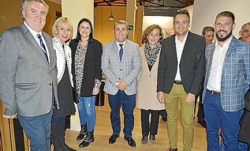 Biel Amer, Carmen Domínguez, Antònia Melis, Virgilio Moreno, Antònia Sabater, Jaume Tortella y Toni Peña.