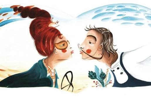 Las ilustraciones de Nívola Uyà se exponen en el Auditòrium Sa Màniga.