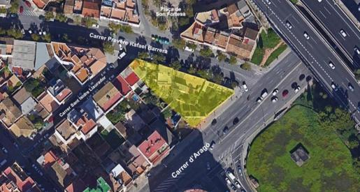 En la calle Aragón se realizarán dos expropiaciones.