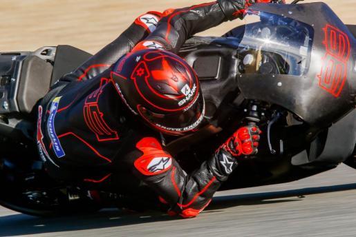 Jorge Lorenzo (Honda) toma una de las curvas del Circuito de Jerez-Ángel Nieto.