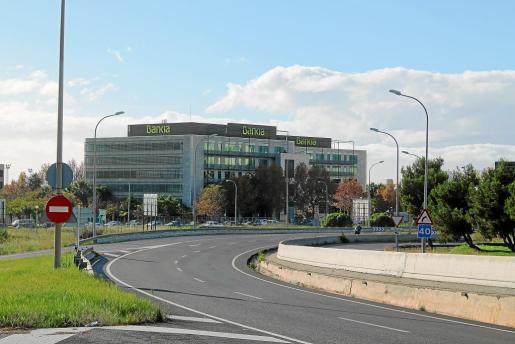 La sede de Bankia en Balears se encuentra en el polígono de Son Fuster de Palma.