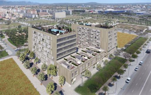 La primera fase de las promociones incluye 91 viviendas plurifamiliares de 1, 2, 3 y 4 habitaciones y 11 viviendas dúplex de 4 dormitorios, todas con trastero y plazas de aparcamiento.