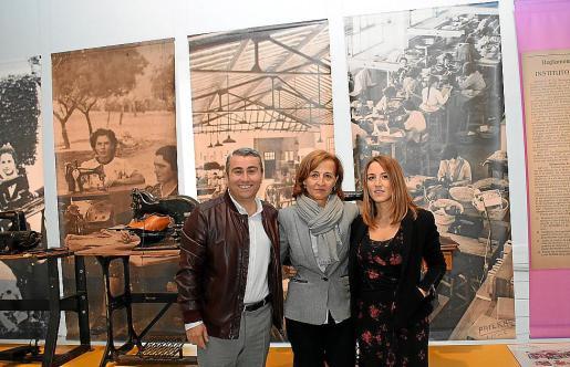 Moreno, Sabater y Ferrero presentaron el nuevo proyecto museístico.