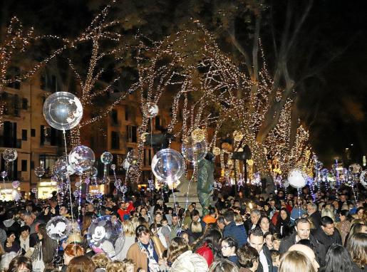 El encendido de las luces de Navidad tuvo lugar el 22 de noviembre.