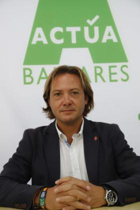 Jorge Campos, presidente de Actua Baleares.