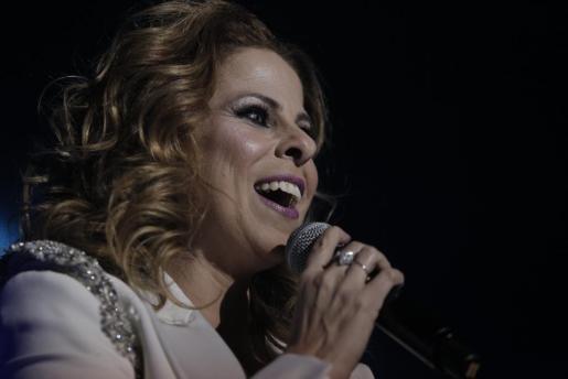 La cantante sevillana Pastora Soler, en una imagen tomada en Palma.