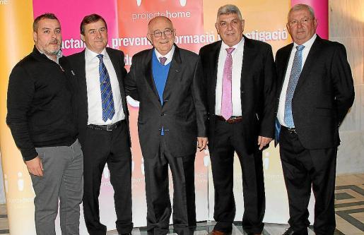Pedro y Joan Mateu, Tomeu Català, Tomeu y Joan Ferragut.