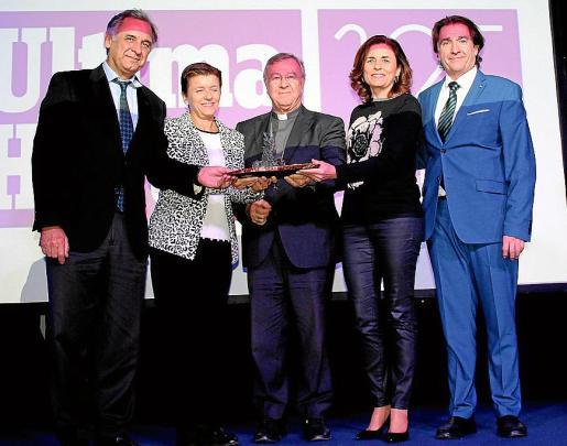 Miquel Serra, Carmen Serra, Sebastià Taltavull, Paula Serra y Xavier Bonet.