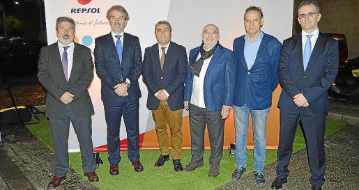 Joaquín Garrote, Felix de Orduña, Virgilio Moreno, Mateu Dupuy, Xavier Ramis y Rogelio López.