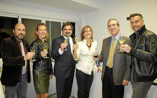 Joan Aleñar, Kirstin Schröder, Miguel Ángel García Albertí, Francisca Brunet, José Luis Gómez Díez y Denis Maciel.