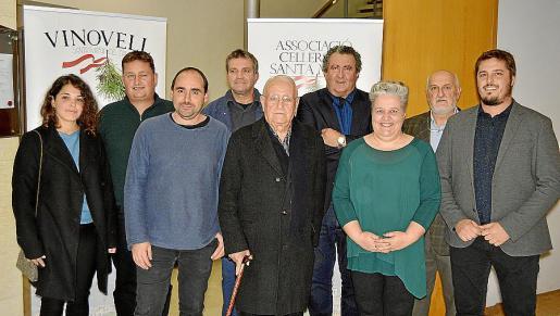 Maria Antònia Pastor, Toni Ramis, Andreu Oliver, Pere Calafat, Macià Capó, Ramón Servalls, Joana Cabot, Sebastià Ordinas y Pere Crespí.