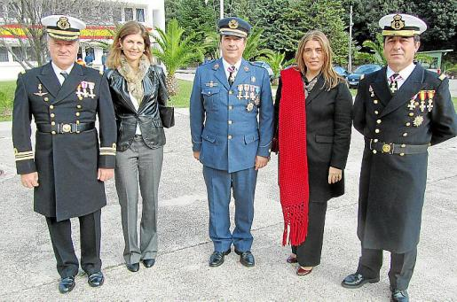 Rafael Martí, Mª Luisa Blanco, Ramón Balastegui, Coral de Miguel y Mateo Cerdán.