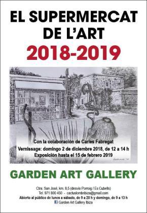 Garden Art Gallery acoge hasta el mes de febrero una nueva edición de 'El Supermercat de l'Art'.