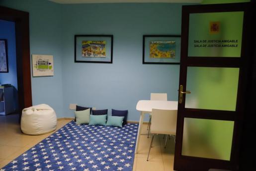 Imagen de una de las salas amigables.