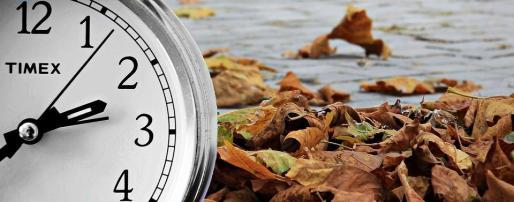 Imagen alusiva al cambio al horario de invierno.