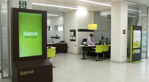 Una oficina de Bankia.