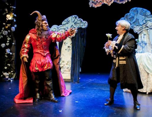 El musical 'La bella y la bestia' recala en Trui Teatre.