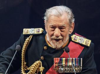 Ian McKellen se pone en la piel del rey Lear