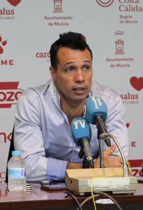 Diego Giustozzi, entrenador de ElPozo Murcia.