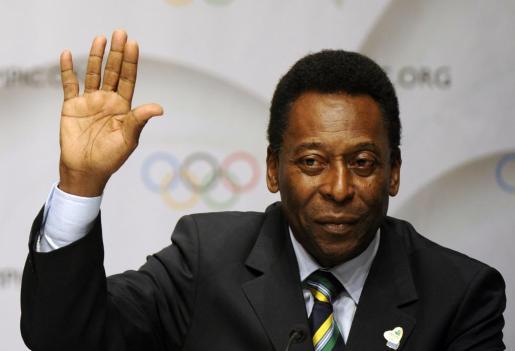 El exfutbolista brasileño Edson Arantes do Nascimento, 'Pelé'.