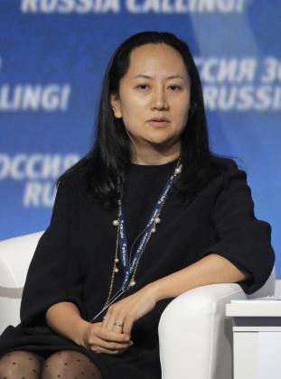 Fotografía de archivo del 2 de octubre de 2014, muestra a Meng Wanzhou, directora financiera de Huawei, mientras participa en el foro de inversión VTB Capital's 'RUSSIA CALLING' en Moscú (Rusia).