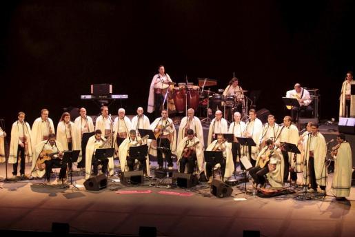 Imagen de una de las últimas actuaciones de Los Sabandeños en Mallorca.