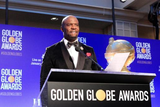El actor estadounidense Terry Crews durante el anunico de los nominados a la 76 edición de los Globos de Oro en Beverly Hills.