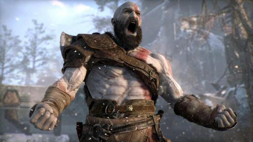 Escena de 'God of War', elegido como mejor videojuego de 2018.
