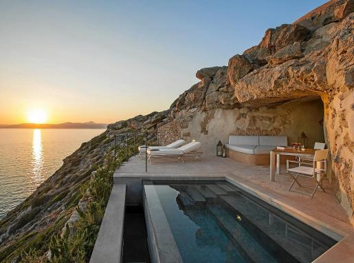 El Hotel Cap Rocat es uno de los 29 asociados a Essentially Mallorca.
