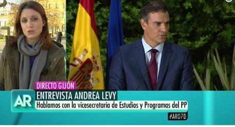 Andrea Levy ha participado este viernes en 'El programa de Ana Rosa'.