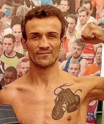 El boxeador mallorquín José del Río 'El Niño'.