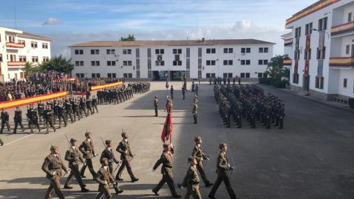 Un momento del desfile.