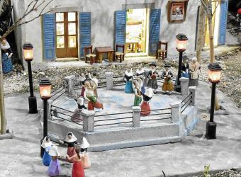 Ruta de belenes en Mallorca: El Consell muestra un belén muy autóctono