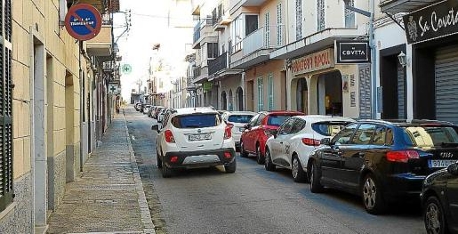 La céntrica calle Guillem Santandreu será objeto de una gran reforma.