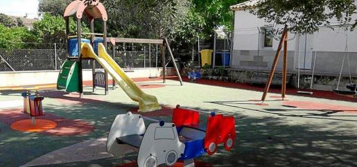 El parque infantil de Sencelles es uno de los ejemplos de las mejores que se han realizado en estos años.