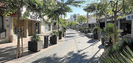 Las obras de remodelación del Passeig Colón aumentarán la zona peatonal.