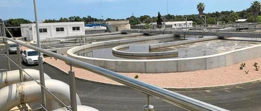Actualmente, la depuradora de sa Coma puede llegar a tratar 11.500 metros cúbicos al día.