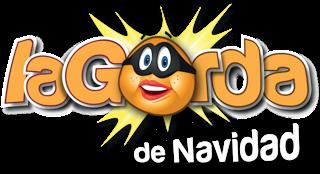 Logotipo promocional del sorteo 'La Gorda de Navidad'.