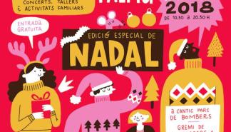 Artesanía, música y gastronomía en el Rata Market de Navidad 2018