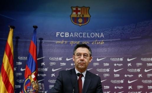 Josep Maria Bartomeu, presidente del F.C. Barcelona.