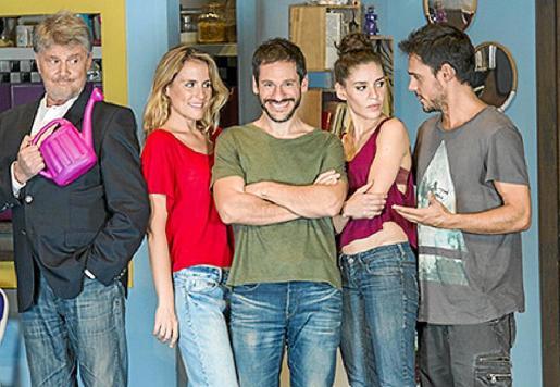 Imagen promocional del elenco del espectáculo 'Burundanga'.