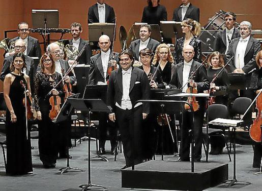 La Orquestra Simfònica, durante una actuación.