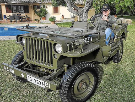 Bernardo Company es el propietario de este magnífico Willy de la Segunda Guerra Mundial que compró en 2008