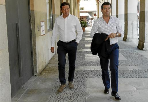 Mateo Isern y Gabriel Company serán el tándem electoral del PP para las elecciones de mayo.