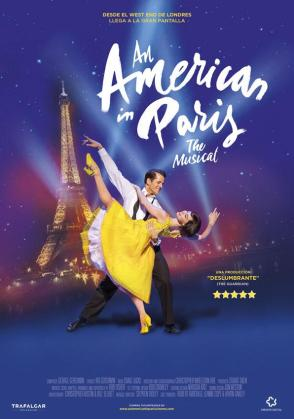 Cartel del musical 'Un americano en París', que se proyecta en Artesiete Fan Mallorca.