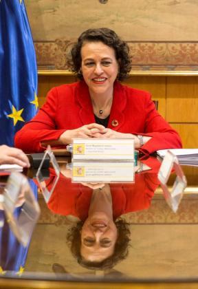 La ministra de Trabajo, Magdalena Valerio, en una imagen reciente.