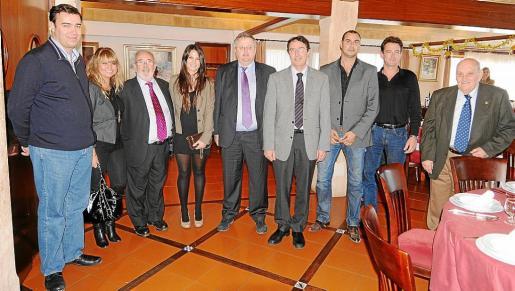 Miguel Florit, Juana Alorda, Miguel Nicolau, María Magdalena Figuerola, Rafael Roig, Salvador Servera, Juliá Sastre, Emilio Seco y José Payeras.