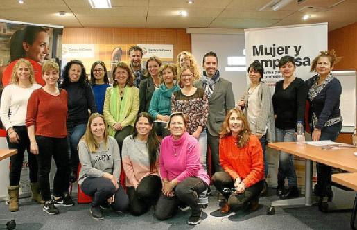 Imagen de las participantes en los talleres celebrados en Palma.